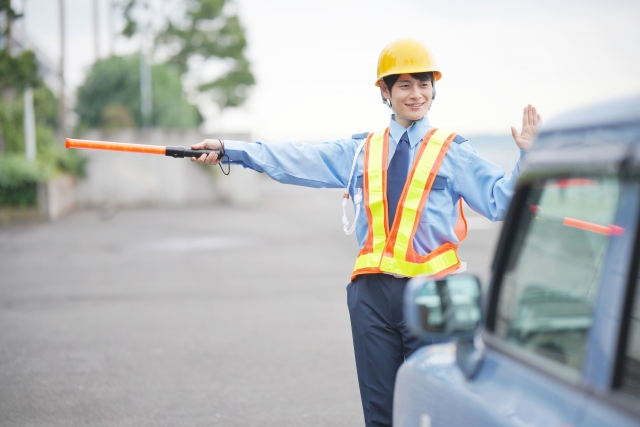 交通誘導警備等の業務